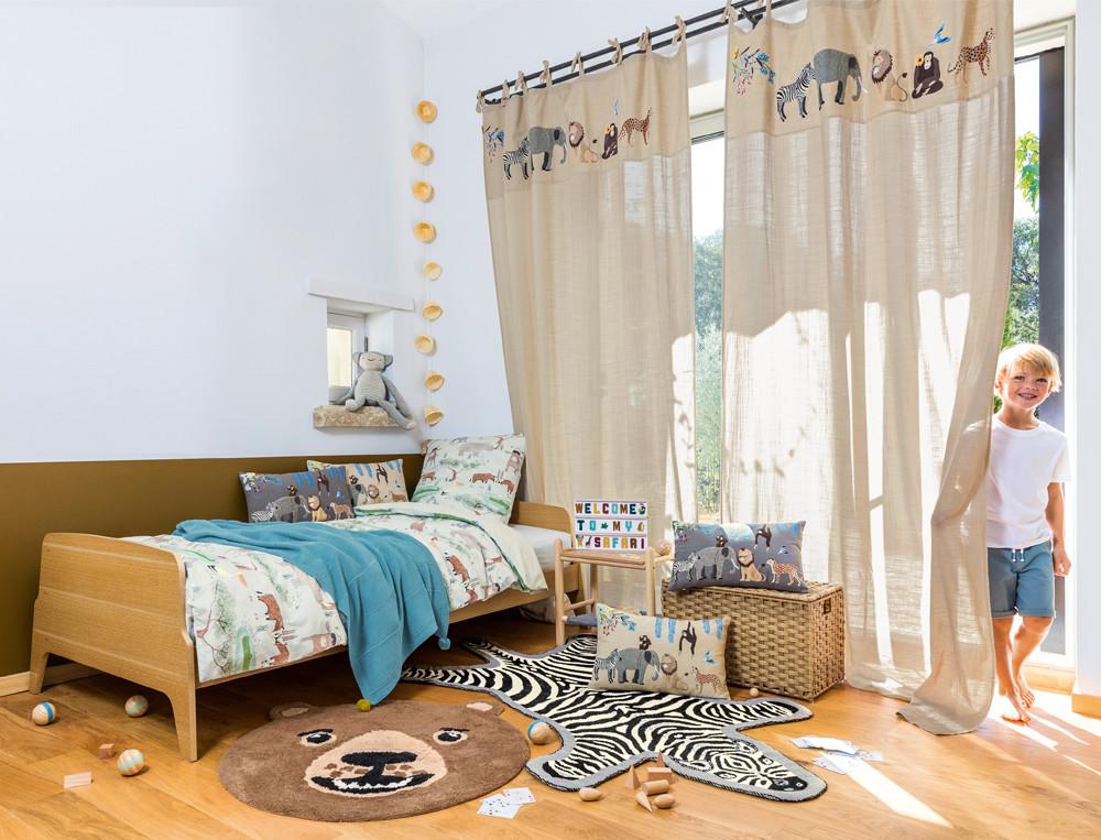 Bettwäsche Kleine Safari Baumwolle Linvosges