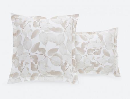 Bettwäsche mit Motiv Blätterregen Baumwolle Linvosges