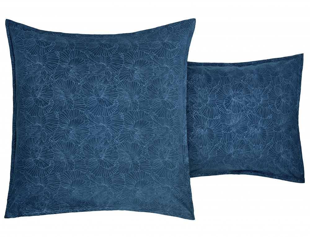 Bettwäsche Naturfarben Bio-Baumwolle florales Motiv
