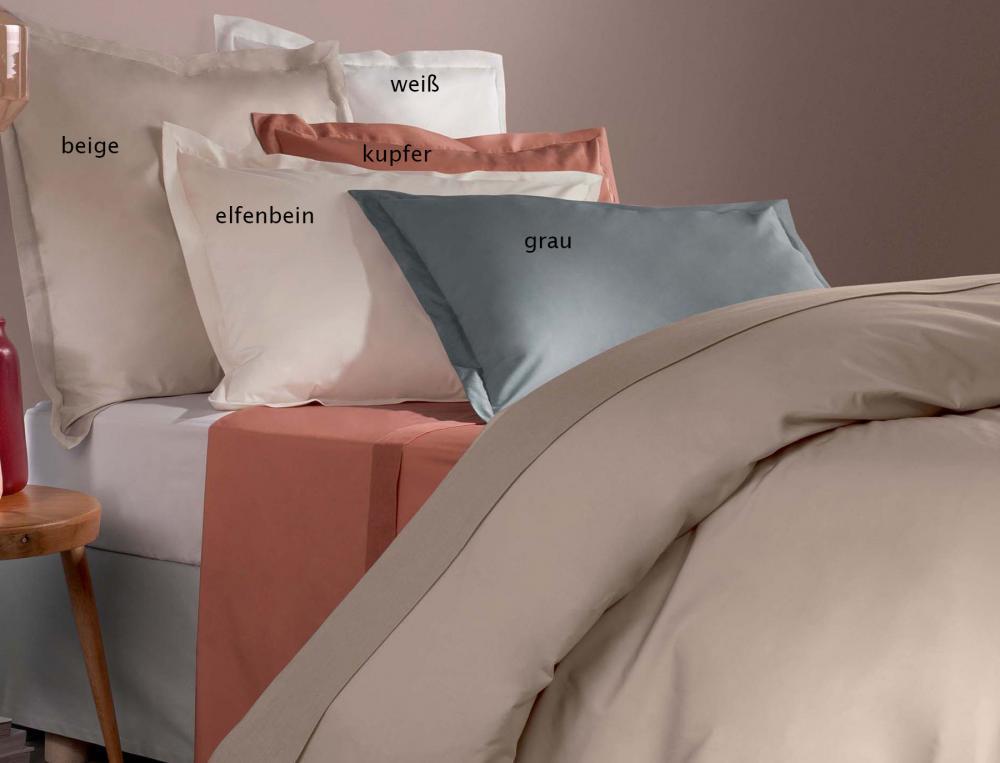 einfarbige bettw sche premium perkal linvosges. Black Bedroom Furniture Sets. Home Design Ideas
