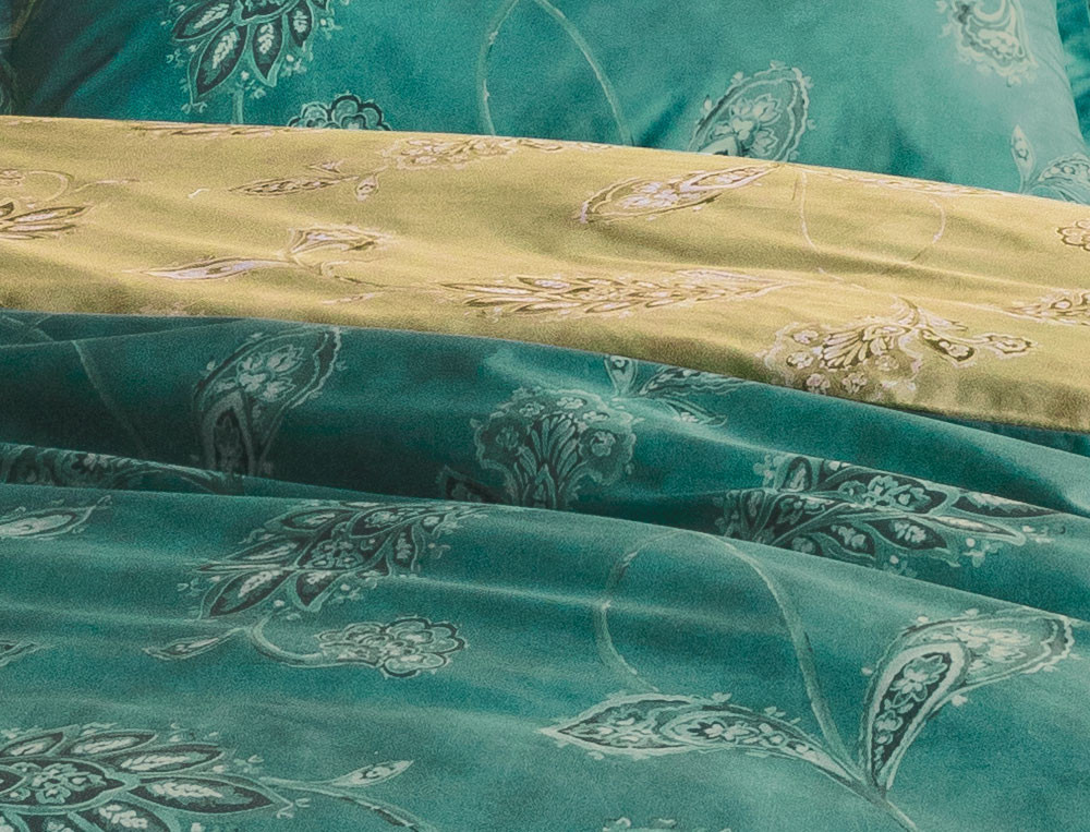 Bettwäsche Smaragd - Linvosges
