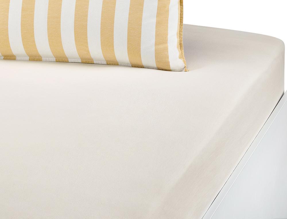 Bettwäsche Sylt gewaschene Bio-Baumwolle Linvosges