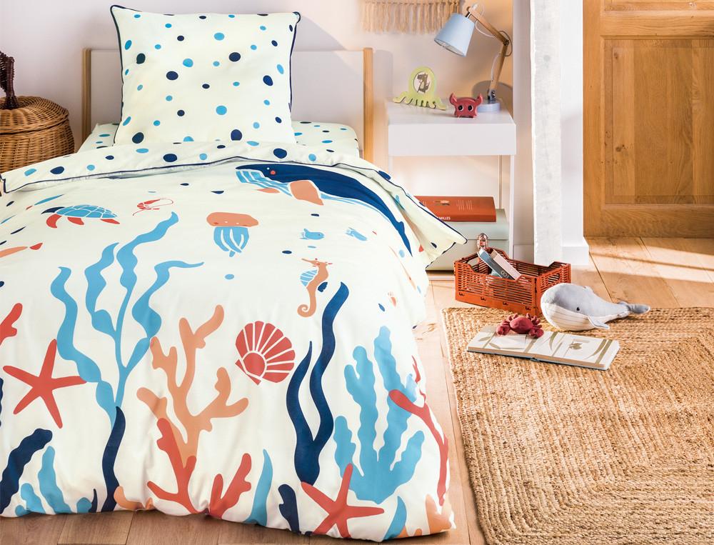 Kinderbettwäsche Unterwasserwelt Unterwasser-Motive