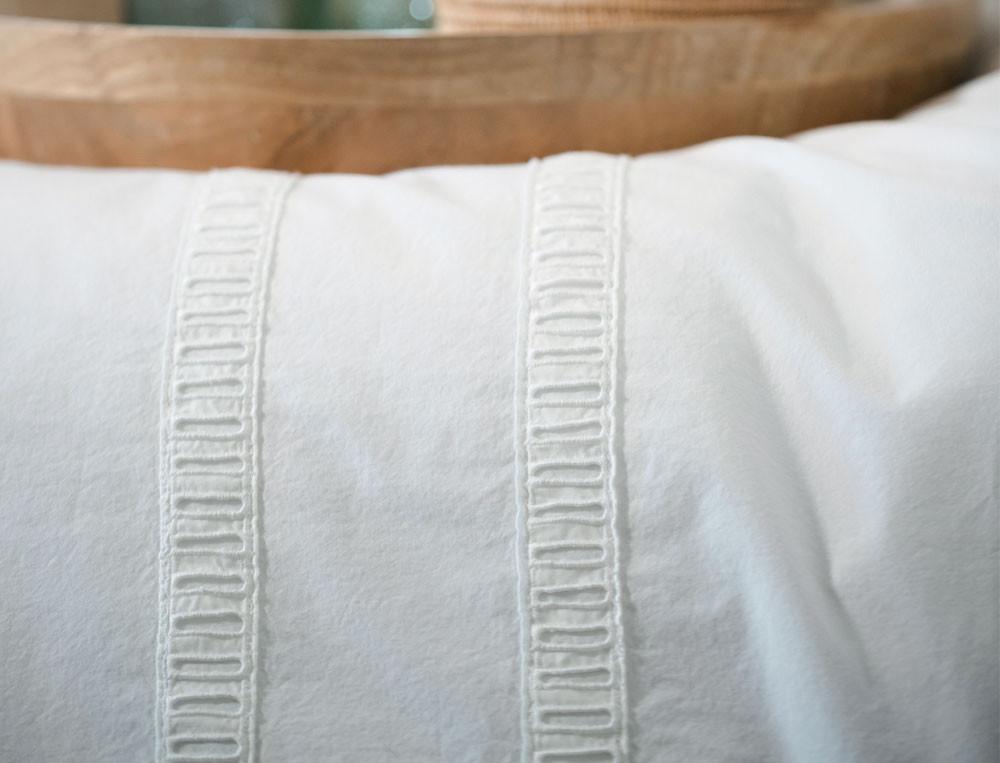 Bettwäsche Wolke Sieben Gewaschener Perkal Baumwolle Linvosges