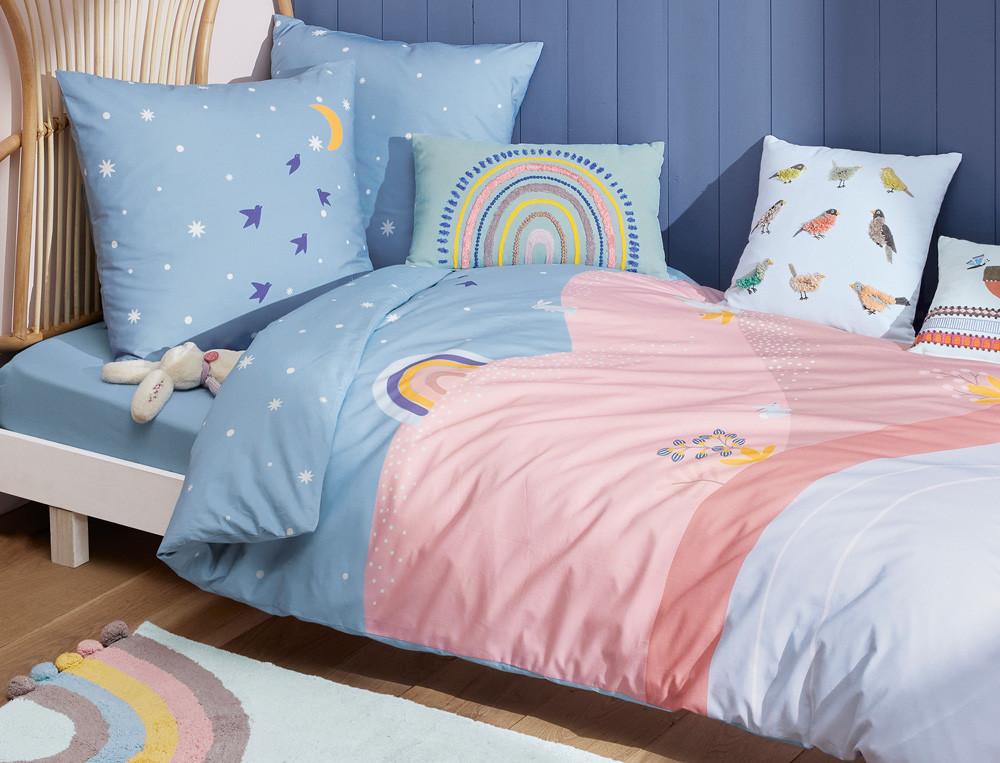 Kinderbettwäsche verspielte Motive Wunderwelt