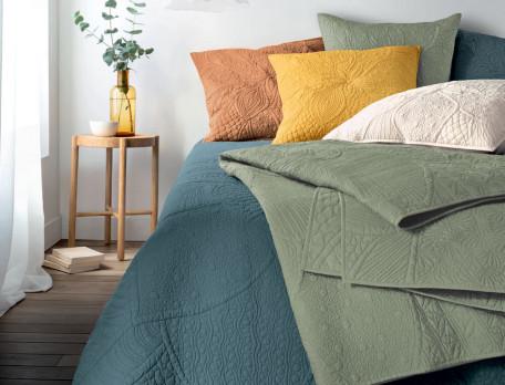 Boutis 100% coton motif placé Lugano