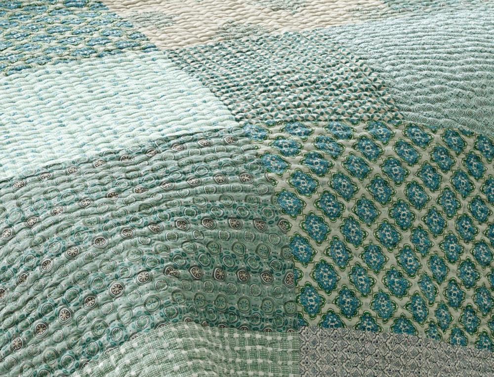 Boutis patchwork Vallée des eaux claires
