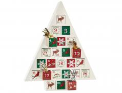 Calendrier de l'avent en bois Noël à Londres
