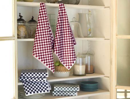 2 essuies-mains vichy Chef