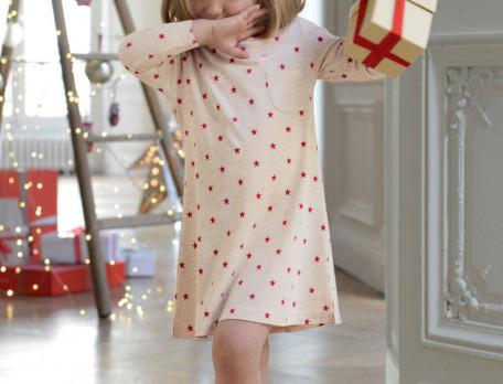Chemise de nuit enfant imprimée Étoile enchantée