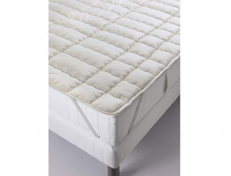 Surmatelas Confort laine 600g/m2 pure laine vierge