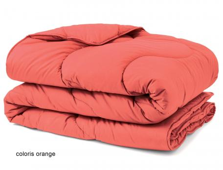 Couette confort couleur hiver 100% polyester