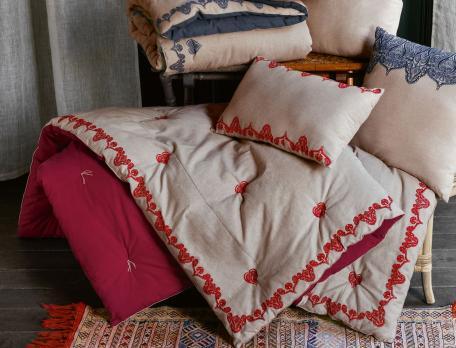 courtepointe brod e envie boh me linvosges. Black Bedroom Furniture Sets. Home Design Ideas