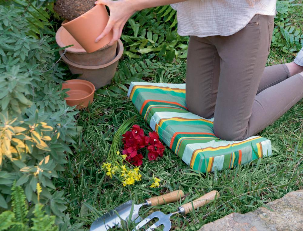 Coussin de jardinage confortable Sur la durance