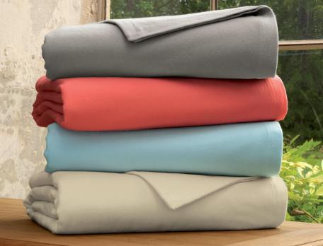 Couverture 100% coton Sieste d'été