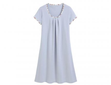 Chemise de nuit jersey bleu ciel Covent garden