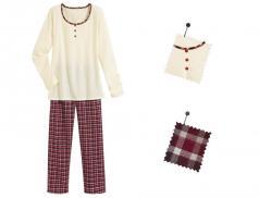 Damen Pyjama Berglust Jersey Baumwolle Linvosges