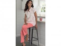 Damen Schlafanzug Jersey-Stoff