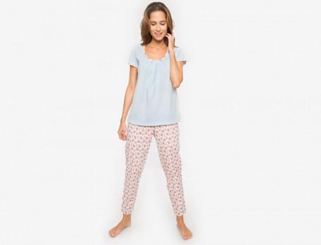 Schlafanzug Damen Jersey