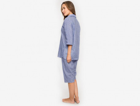 Damenpyjama Träumerei Baumwolle