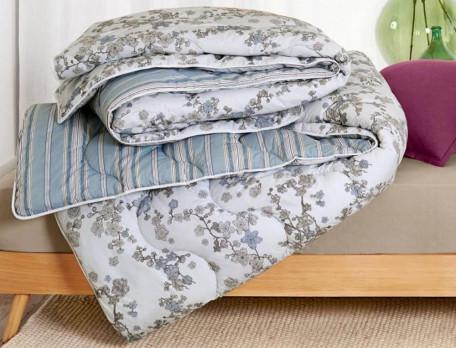 Decke Blumen-Komfort Polyester-Hohlfasern Linvosges