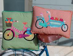 Dekokissen Fahrradtour Linvosges