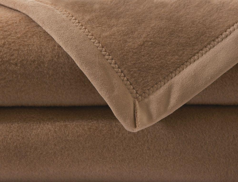 Couverture en poil de chameau Désert