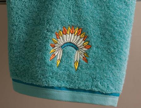 Drap de bain enfant Petit indien