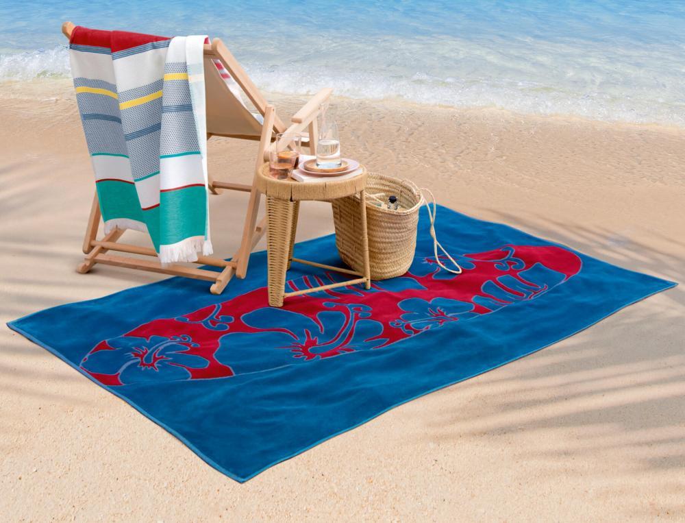 Drap de plage imprimé Biscarosse