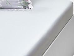 Drap-housse uni gris Les Magnolias