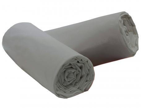 1 drap housse gris nuage coton fin achet 1 offert linvosges. Black Bedroom Furniture Sets. Home Design Ideas