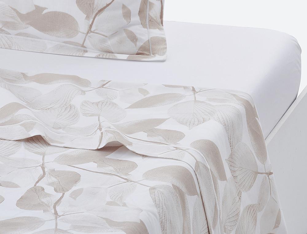 Drap 100% coton imprimé finition bourdon Sous le charme