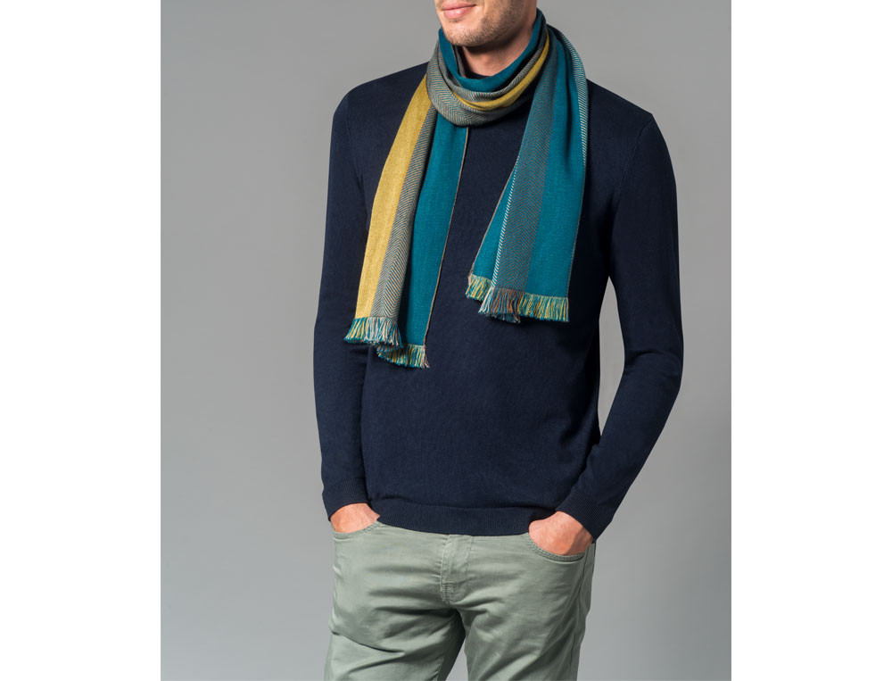 Écharpe laine et coton Mille et une douceurs