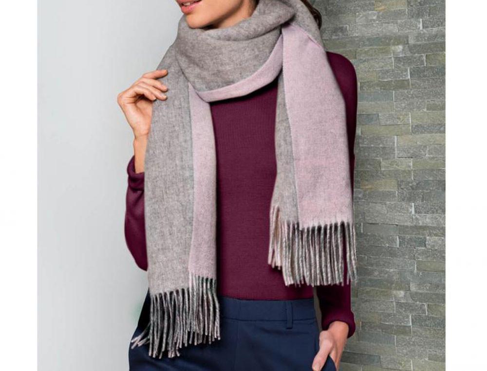Étole en laine En douceur