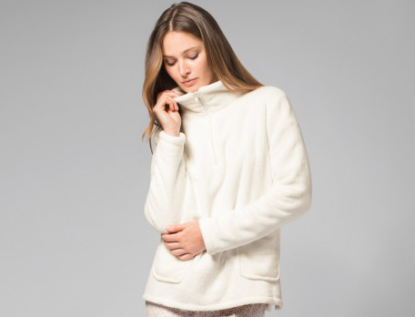 Fleece Sweatshirt Island Linvosges