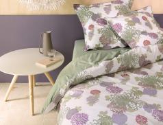 Linge de lit Fleurs d'artifice percale 100% coton