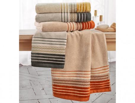 Frottee-Set Farbspiel aus Baumwolle