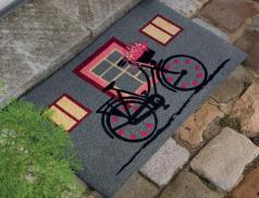 Fußmatte Fahrradtour Kokosnussfasern Linvosges