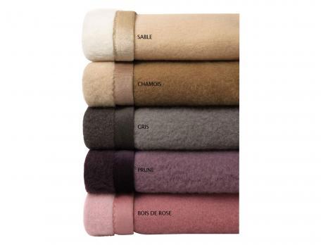 Couverture en pure laine Gérardmer