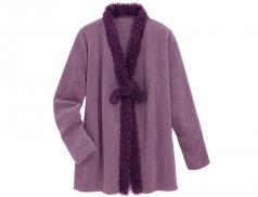 Fleece-Jacke Bordeaux Linvosges