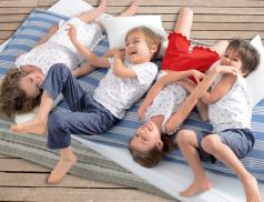 Junge Pyjama Kleiner Seemann Baumwolle