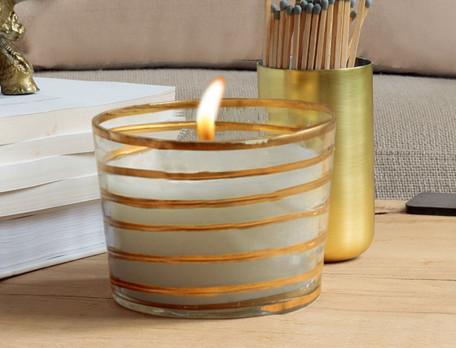 Kerze Goldene Safari Linvosges