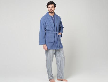 Kimono Blau Linientreu