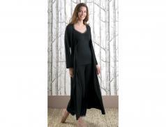 Kimono long en jersey Nuit vénitienne