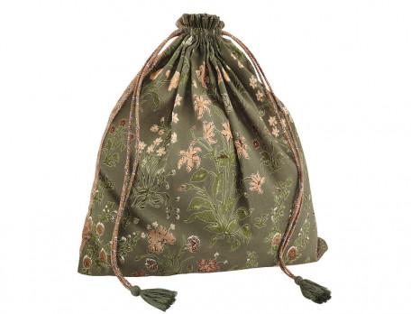 Kimono Schmuckstück Baumwollvoile Linvosges