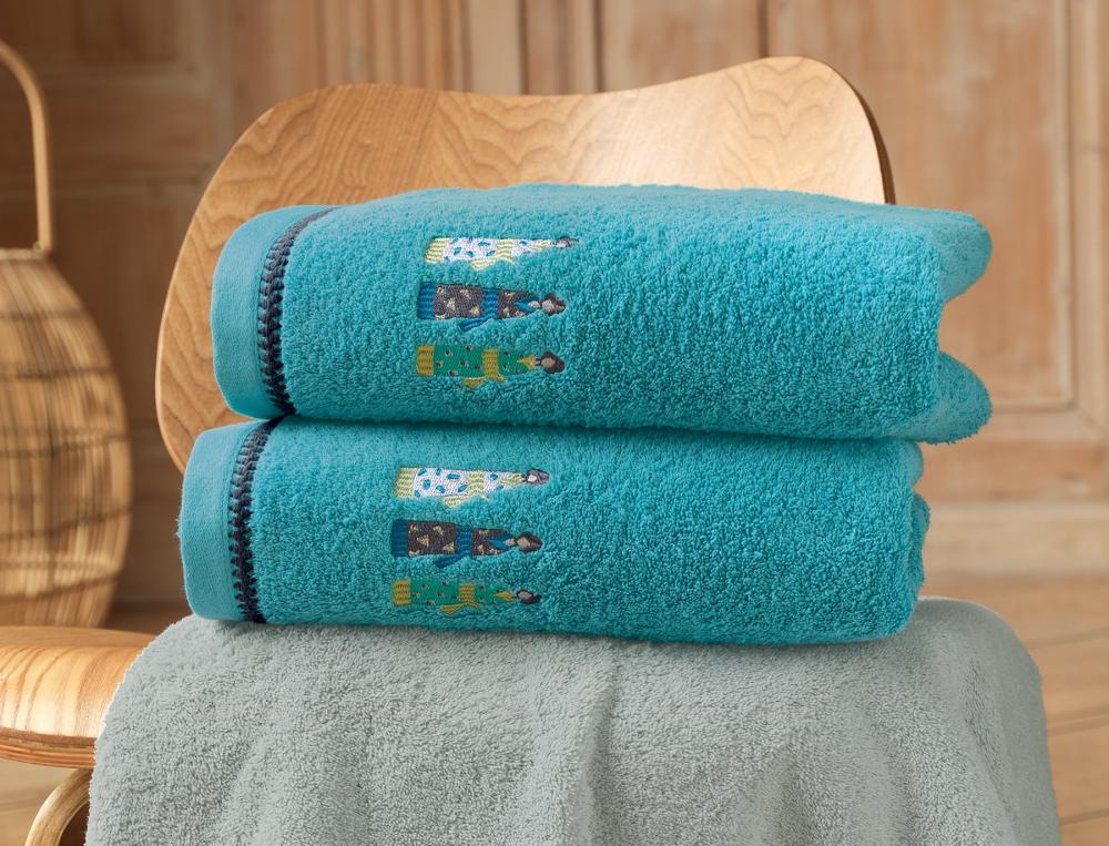 Linge de bain brodé Kimonos
