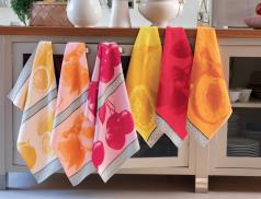 Geschirrtücher Küchenhandtücher Frottee Jacquard
