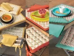 Küchentextilien Sommerfarben