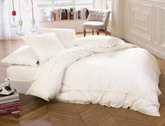 Linge de lit percale lavée La vie rêvée