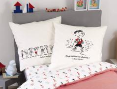 Linge de lit enfant imprimé 100% coton Le petit Nicolas